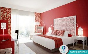 رنگ کردن اتاق خواب