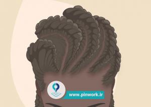 بافت آفریقایی مو