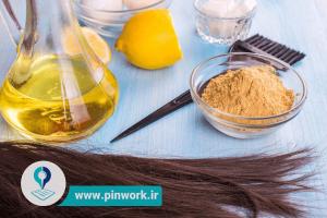 کراتینه کردن مو با مواد طبیعی