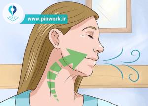 رفع چروک گردن