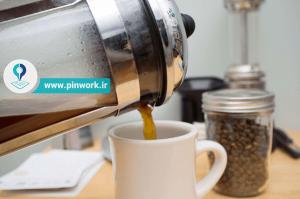 تمیز کردن قهوه جوش