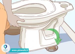 چطور یک توالت فرنگی نصب کنیم؟