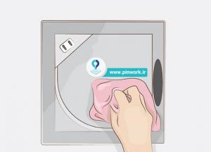 تمیز کردن هواکش دستشویی